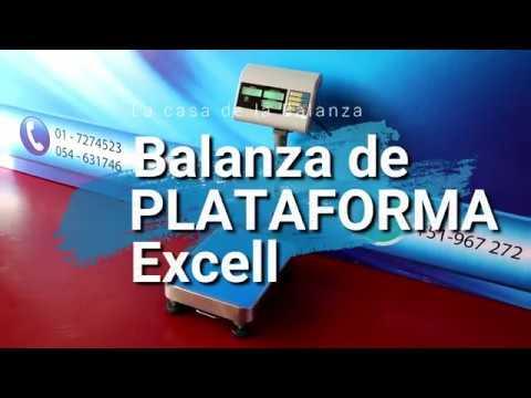 Balanza de Plataforma Excell