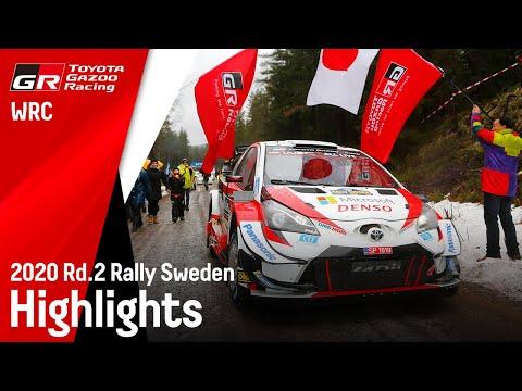 2020年WRC第2戦ラリー・スウェーデン ToyotaGazooRacing ハイライト動画