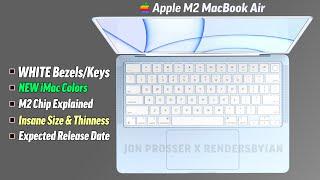 M2 MacBook Air CONFERMATO! Specifiche e data di rilascio spiegate