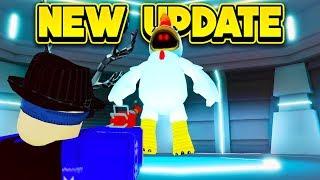 NEW ALIEN CHICKEN BOSS UPDATE! (ROBLOX Mad City)
