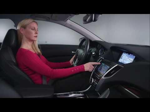 Acura – Tutorials – Touchscreen