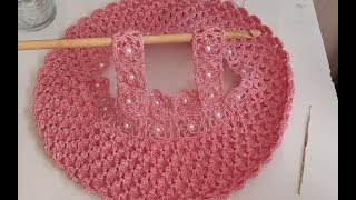 Blusa tejida a crochet/ vestido a crochet / ganchillo  / easy crochet dress / parte #1