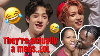 LOL!😂 STRAY KIDS AUSSIE LINE BEING A MESS REACTION