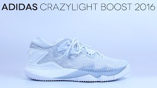 1214eb01ba5 ... youtube cb8bd 9f61d closeout adidas crazylight boost 2016 all white  detailed review a180a 07e95 ...