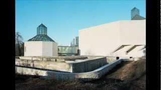 preview picture of video 'Mudam Luxembourg, I. M. Pei Architect Design : Vues de l'extérieur'
