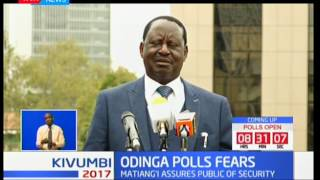 NASA flagbearer Raila Odinga reveals plans to shut down electronic system in order to rig elections