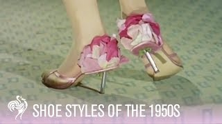 Shoe Styles Of The 1950s | Vintage Fashions