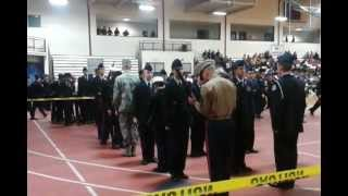Marine First Segeant gets slapped at inspection