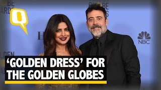 The Quint Priyanka Chopra Brings 'the Gold' To The Golden Globes