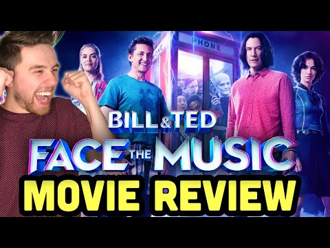 BILL & TED FACE THE MUSIC – Movie Review | Bill & Ted 3 is AWESOME