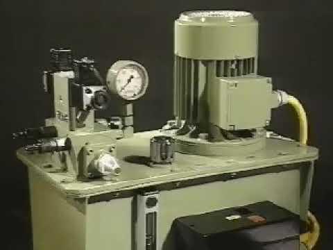 Como trabaja una  bomba hidráulica