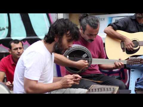 Kararsizlar - Gesi bağları - street shooting in Tünel Sahne - Istanbul - 31/08/2014