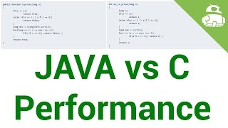 Java vs C app performance – Gary explains