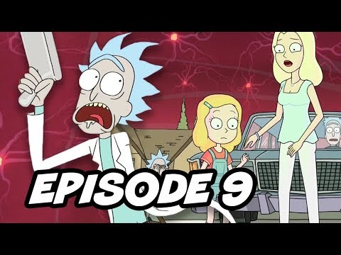 Rick and Morty Season 3 Episode 9 - Rick's Untold History Theory