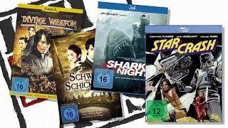 SHARK WEAPON vs STAR SWORD (4 neue Blu-Rays/DVDs)