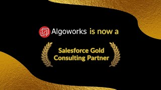 Algoworks is Now a Salesforce Gold Partner