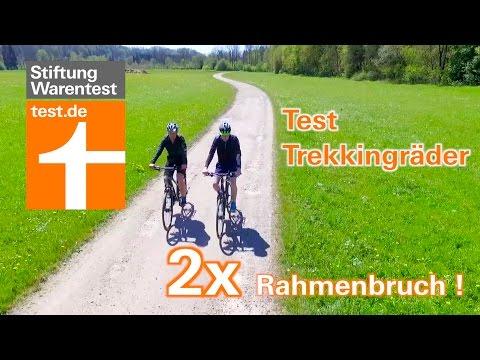 Test Trekkingräder: Zweimal Rahmenbruch