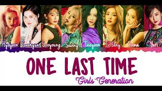Girls' Generation (소녀시대) - One Last Time [English Cover]