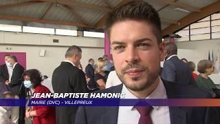 Jean-Baptiste Hamonic intronisé nouveau maire de Villepreux