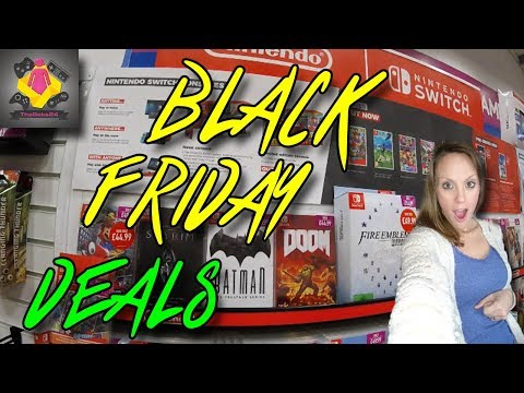 PS4, Xbox One and Nintendo Switch BLACK FRIDAY DEALS | TheGebs24
