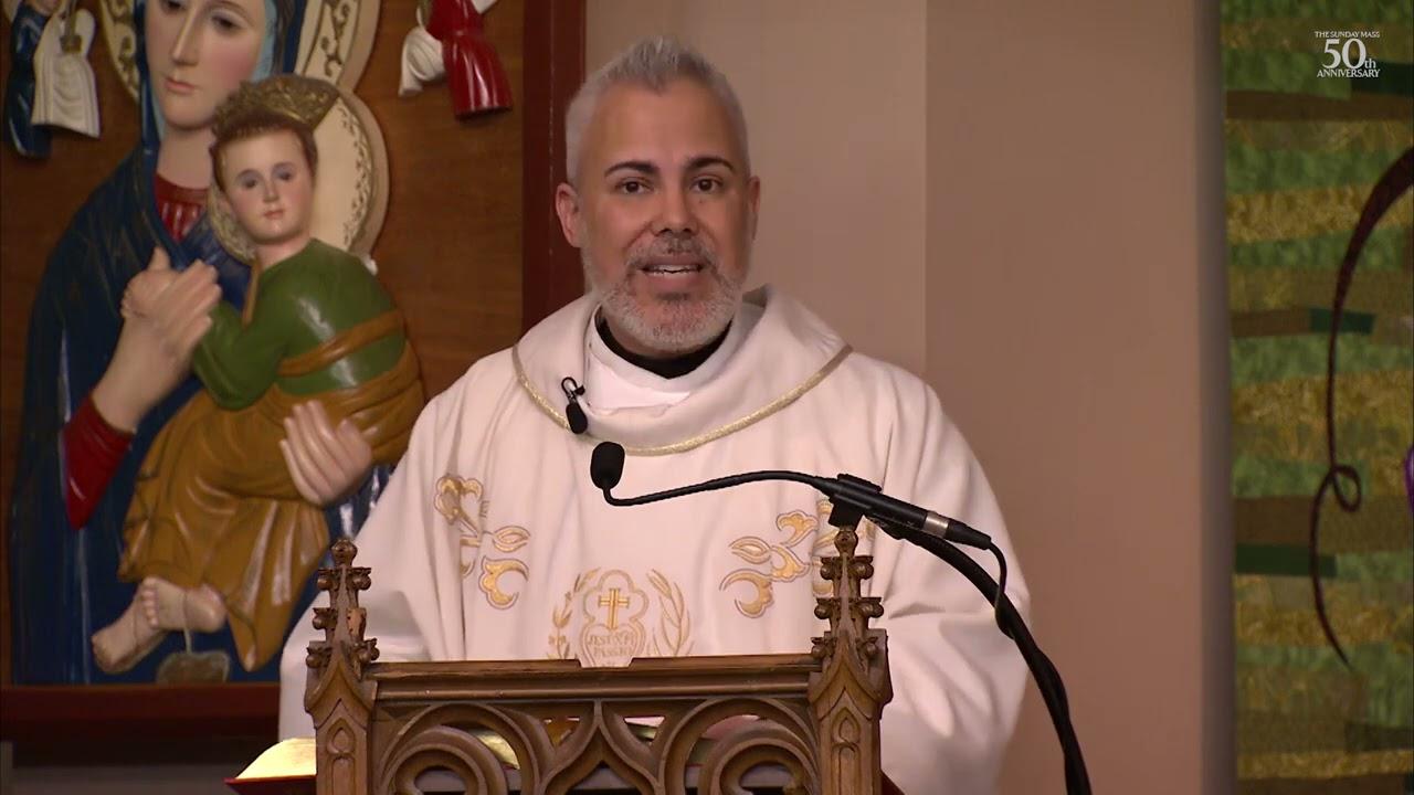 Catholic Live Sunday Mass 18th April 2021 Homily - Third Sunday of Easter