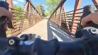 Durango On Bike Pulling Trailer, FPV, Live