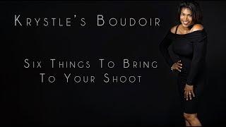 Six Things to Bring   Moreno Valley Boudoir Photographer   Krystle's Boudoir