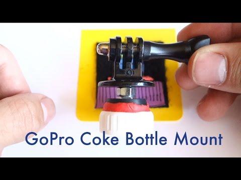 Turn A Bottle Cap Into A Cheap, DIY GoPro Float