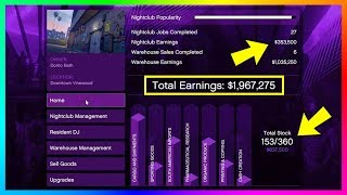 Become A Millionaire FAST & EASY While Being AFK - Ultimate Nightclub Business Money Making Guide!