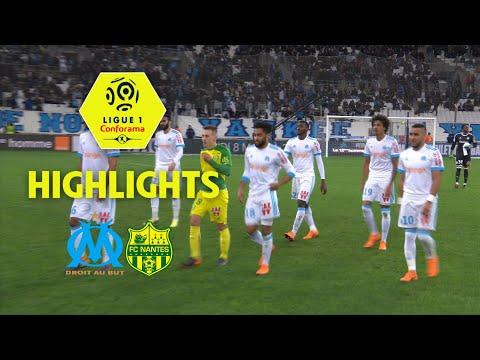 Olympique de Marseille – FC Nantes (1-1) – Highlights – (OM – FCN) / 2017-18