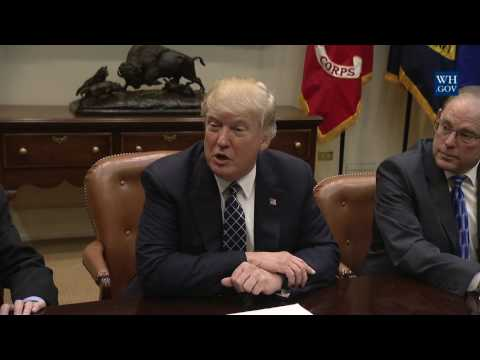 President Trump Hosts a Listening Session with the Fraternal Order of Police
