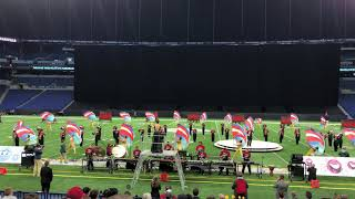 Evansville Harrison Warrior Command - 2019 ISSMA State Marching Band Finals Performance