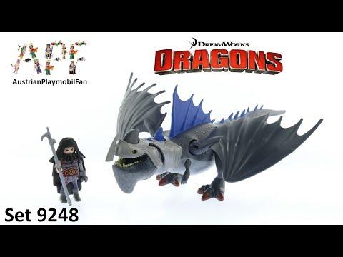 Vidéo PLAYMOBIL Dragons (DreamWorks) 9248 : Drago avec dragon de combat