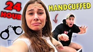 HANDCUFFED To My GIRLFRIEND For 24 HOURS!!