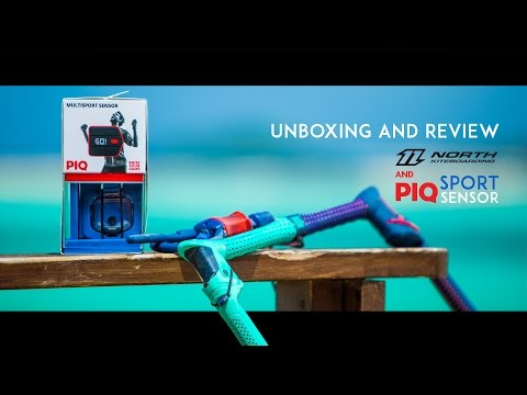 Review Of The PIQ & North Kiteboarding Kitesurfing Sensor – Measure Your Jumps