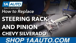 How to Replace Steering Rack & Pinion Assembly 2008 Chevy Silverado   Kholo.pk