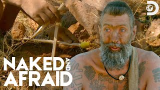 """""""Something Has Been Stealing Our Food!""""   Naked and Afraid"""