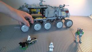 LEGO Star Wars Clone Turbo Tank 8098 Review