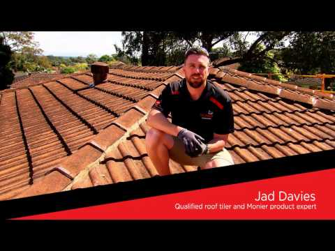HOW TO with Monier: Flexible Pointing for ridge tiles