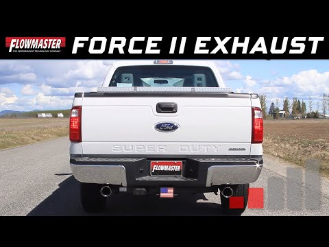 2014-16 Ford F250, F350 - Force II Cat-back Exhaust System 817701