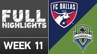 HIGHLIGHTS: FC Dallas vs. Seattle Sounders | May 14, 2016 by Major League Soccer