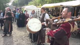 preview picture of video 'Mittelalterfest Burgruine Aggstein 2014'