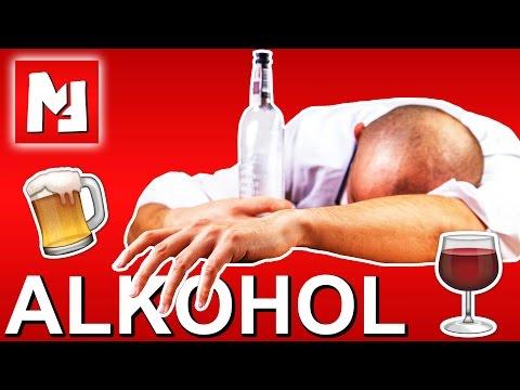 Der Alkoholismus die soziale Werbung