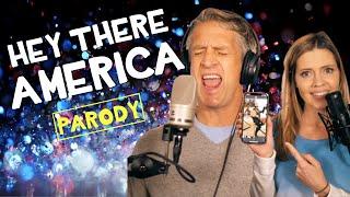 Hey There America - Plain White T's Parody