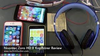 Noontec Zoro HD II Kopfhörer Review