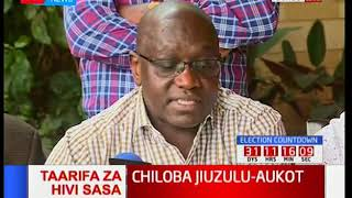 Ekuru Aukot wants all presidential candidates to contest in the coming presidential elections