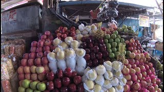 Indonesia Makassar Street Food 1961 Fresh Fruits Jeruk Sulawesi Dan Buah Import