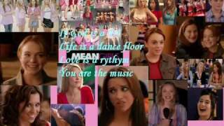 Pink-If god is a DJ with lyrics(mean girls)