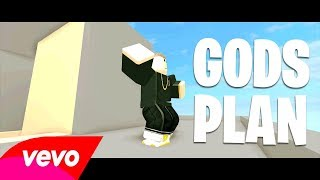 Drake God's Plan Official Roblox Music Video
