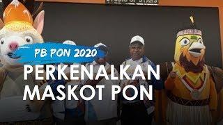 PB PON Perkenalkan Drawa dan Kangpo Jadi Maskot PON XX 2020 Papua